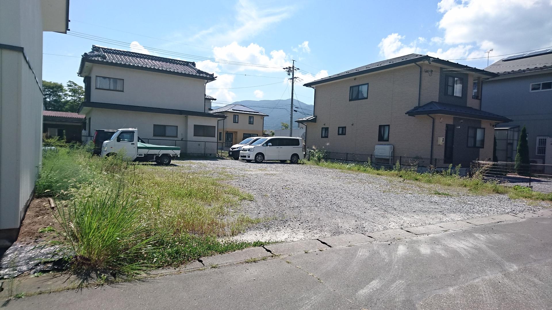 諏訪市沖田住宅用土地