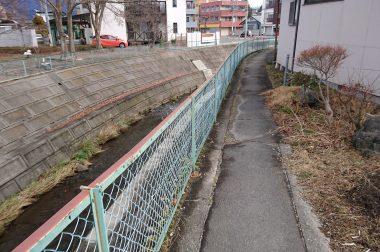 裏道を散歩