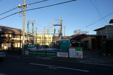 下諏訪町四王 建売住宅 第3弾スタートです。