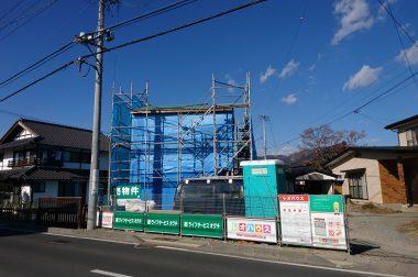 下諏訪町四王 建売住宅 上棟しました。