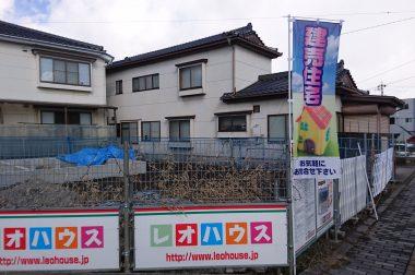 岡谷市田中町 建売住宅 のぼりが立ちました!