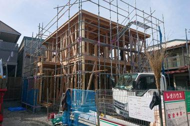 諏訪市大手建売住宅 上棟しました!