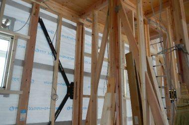 安曇野市三郷明盛建売住宅 各種検査中です。