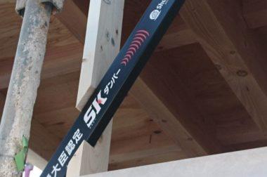 諏訪市中洲 建売住宅 サンライフハウス中洲Ⅱ 制震装置が設置されました。