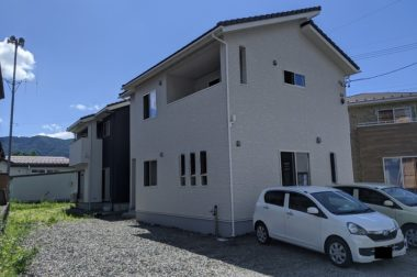 諏訪市中洲 建売住宅 サンライフハウス中洲Ⅱ 完成しました!
